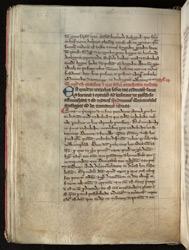 Scholarly Page Layout, In Robert Grosseteste's Translation Of, And Commentary On, Dionysius The Pseudo-Areopagite's 'Celestial Hierarchy' reverse(011ADD000045232U00043V00)